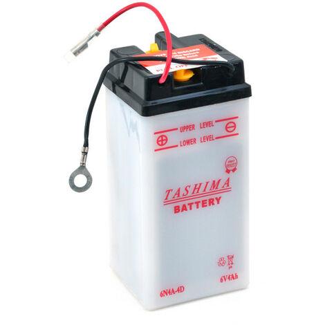 Tashima - Batterie moto 6N4A-4D 6V 4Ah