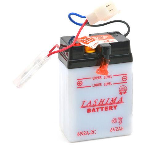 Tashima - Tashima - Batterie moto 6N2A-2C 6V 2Ah