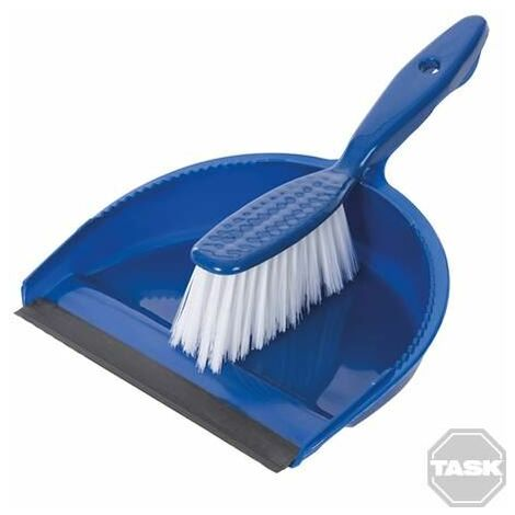 Task Dustpan & Brush Set Display Box 24pk 280 x 220mm 902240