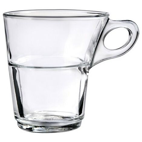 TASSE CAPRICE TRANSPARENT 22CL (Vendu par 6)