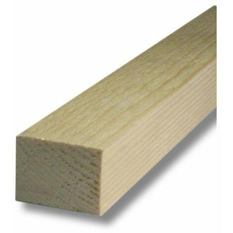 Tasseau brut calibré sapin nord 240cm 75x63 mm - sup bois