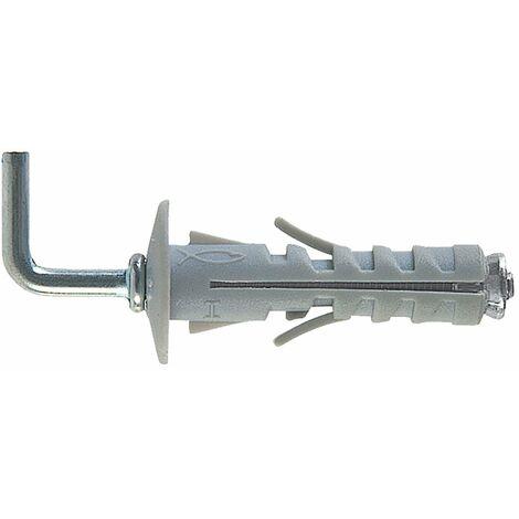 12x45 mm 50 Pz Tassello Tasselli Fischer SB 12//5 in Nylon Doppio Dado ØxL