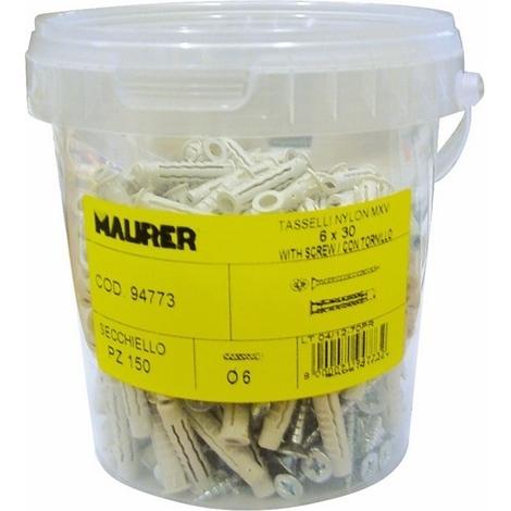 TASSELLO NYLON MAURER MXV 8 Ø8X40MM (SECCHIELLO 100PZ)