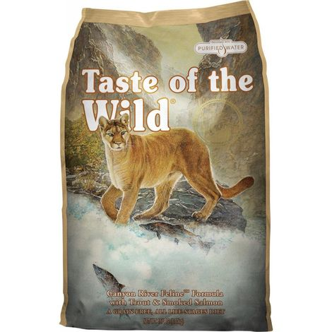 Taste of the wild Canyon River gatos 7 kg