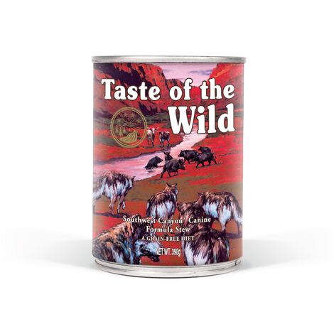 Taste of the Wild Chien Southwest Canyon - Boîte, 390 g