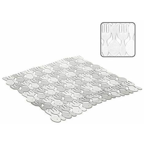 Tatay 1128001 Tapis d\'Evier Plastique Cristal 28 x 28 x 0,5 cm