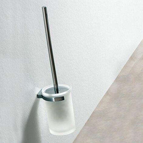 TATAY 6645500 Design Porte-Balai WC Mural Blanc 8 x 9 x 35,5 cm