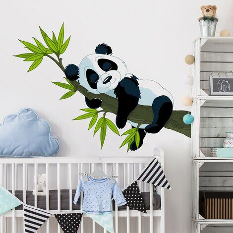 Tatuaje de pared - Sleeping Panda Dimensión LxA: 33cm x 45cm