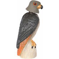 Taubenschreck Greifvogel-Attrappe Falke mit Wackelkopf 43 cm