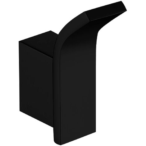 Taurus Black Wall Mounted Single Robe Hook