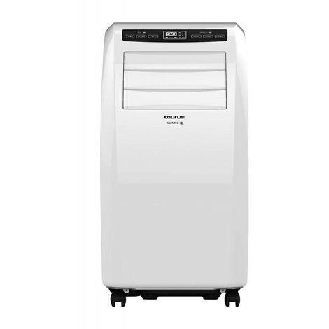 TAURUS Climatiseur Local Mobile Monobloc 2930W 10000 BTU/h pour surface 30m2 - Blanc