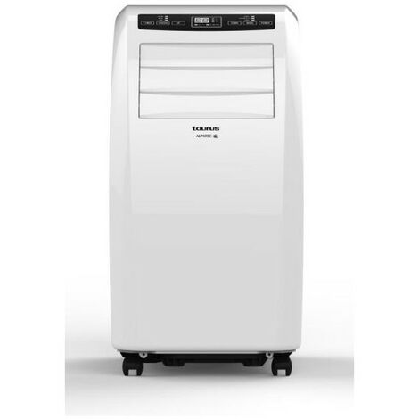 TAURUS Climatiseur mobile monobloc 2900W Déshumidificateur pour surface 30m2 - Blanc