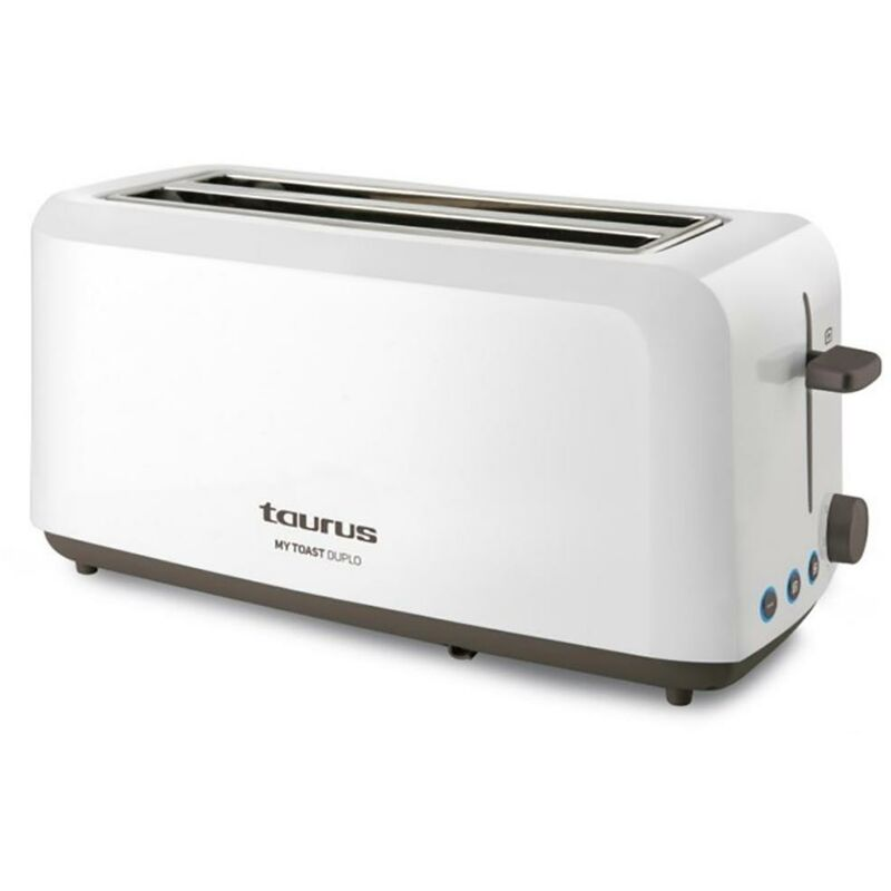 Grille-pain de cuisine 2 tranches Extra Long 1450W My Toast Duplo Taurus