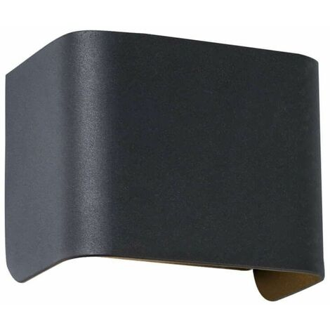 TAURUS wall light in Galvanized Steel and Anthracite
