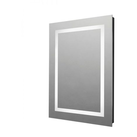 Tavistock Clarion Illuminated LED Bathroom Mirror with Bluetooth 700mm H x 500mm W
