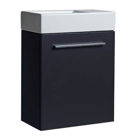 Tavistock Kobe 450mm Storm Grey Floorstanding Vanity Unit & Basin