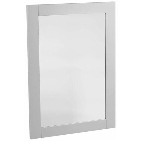 Tavistock Lansdown Bathroom Mirror, 800mm High x 570mm Wide, Pebble Grey