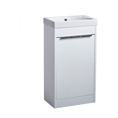 Sequence 450mm Freestanding Unit White