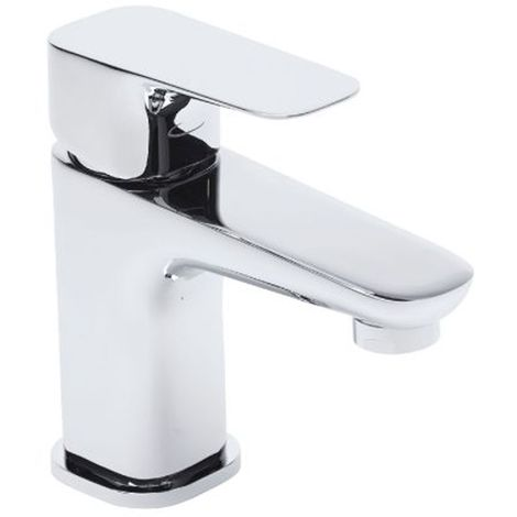 Tavistock Signal Basin Mixer Tap with Click Clack Waste - Chrome