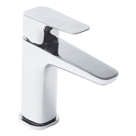 Tavistock Signal Basin Mixer Tap with Click Waste - Chrome