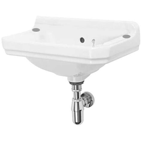 Tavistock Vitoria Cloakroom Basin 500mm Wide 2 Tap Hole