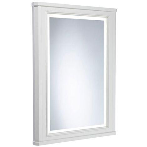 Tavistock Vitoria Illuminated LED Bathroom Mirror 600mm Wide - Linen White
