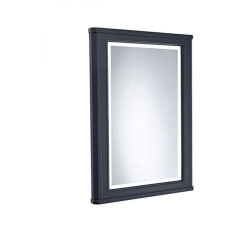 Tavistock Vitoria Illuminated LED Bathroom Mirror 600mm Wide - Matt Dark Grey