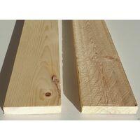 Tavola grezza carpenteria in legno abete semipiallato cm 2