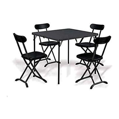 Tavolini Da Campeggio Pieghevoli Con Sedie.Tavolino Con Sedie Pieghevoli Per Campeggio E Giardino S1815086