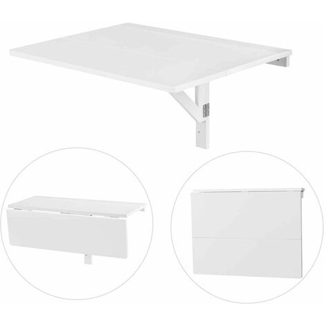 Tavolo Da Parete Richiudibile In Mensola.Tavolino Da Muro Pieghevole Tavolo Da Parete In Legno 80 X 60 X