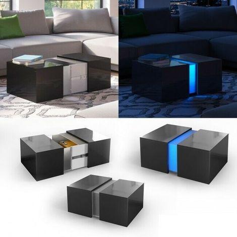 Acquario Tavolino Da Salotto.Tavolino Da Salotto Caffe Moderno Con Illuminazione A Led
