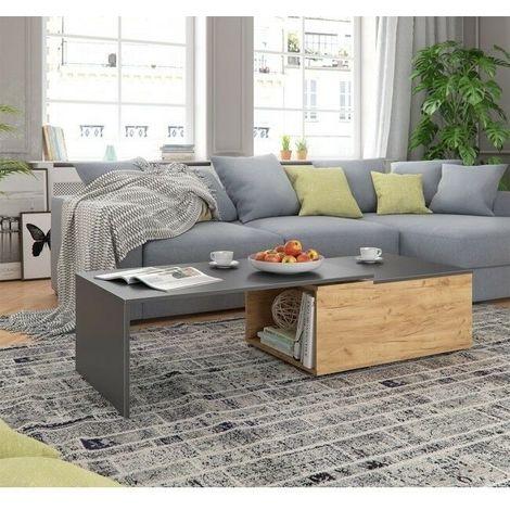 Piccolo Appartamento Soggiorno Divano Letto Comodino Camera da Letto con Movimento della Ruota Casa AA Tavolino da caff/è Dimensioni : 40cm