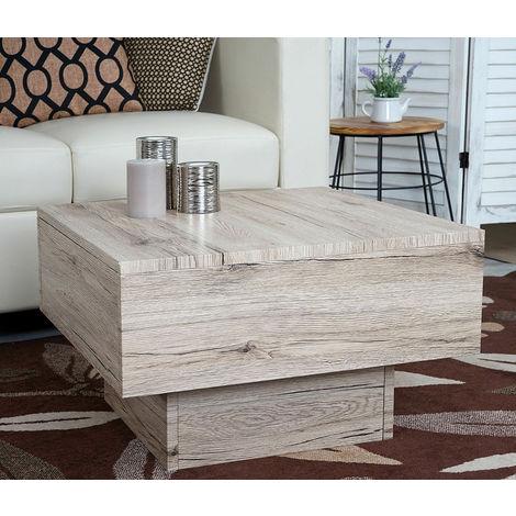 Tavolino da Salotto Soggiorno dal design Moderno Tavolo caffè Tà ...