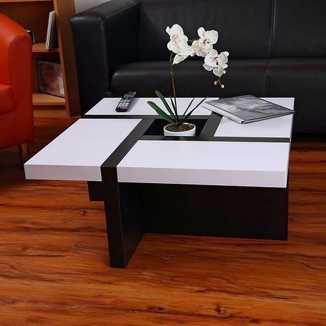 Tavolino da salotto soggiorno tavolo dal design moderno in legno con ...