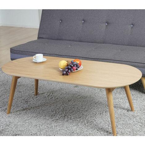 Tavoli Soggiorno In Legno.Tavolino Da Salotto Soggiorno Tavolo Dal Design Moderno In Legno