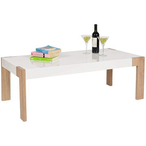 Tavolino da soggiorno tavolo basso tavolo da caffè 120 x 60 cm in ...