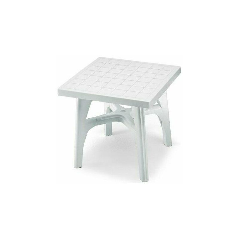 Tavolo Giardino Plastica Bianco.Tavolino Esterno Resina Tavolo Giardino Plastica Verde Bianco Scab