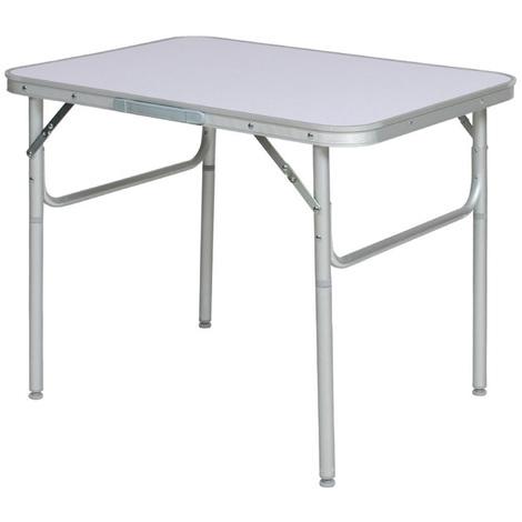 Tavolino Campeggio Pieghevole Alluminio.Tavolino Pieghevole Con Struttura In Alluminio 75x55x60 Ideale Per Campeggio