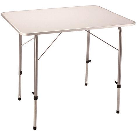 Comprare Tavolino Pieghevole.Tavolino Pieghevole E Regolabile In Altezza 80 X 60 Per Campeggio Spiaggia Mare Piscina Giardino
