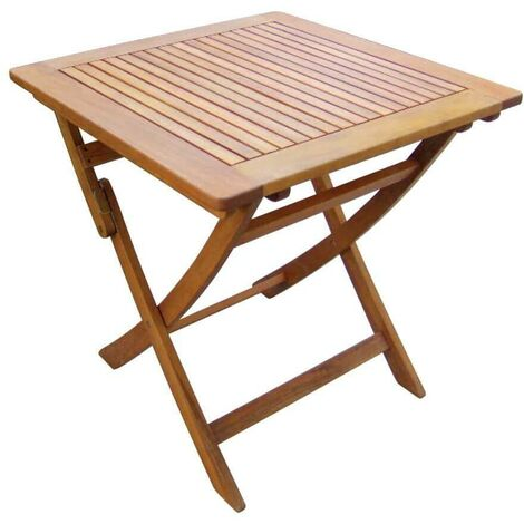 Tavolo Richiudibile Legno.Tavolino Pieghevole In Legno Di Acacia 70 X 70 Per Esterno Giardino Portico Ristorante Bar Hotel Albergo Agriturismo