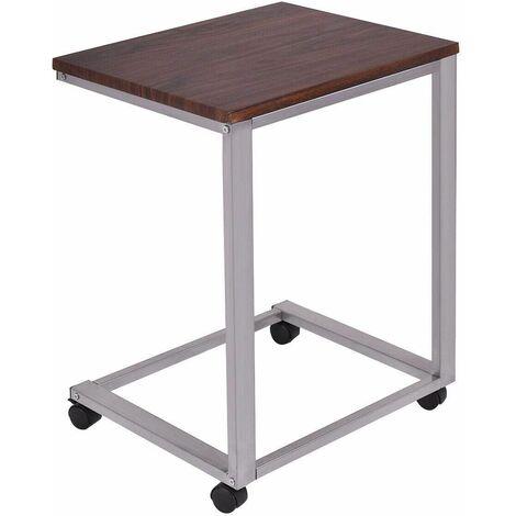 Tavoli Pieghevoli Con Ruote.Tavolino Porta Pc Tavolo Da Caffe Con Ruote Tavolino Laterale Per