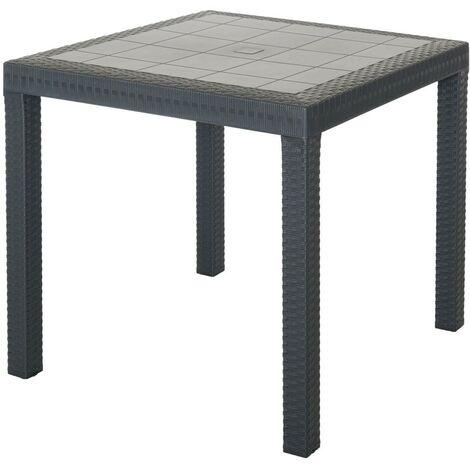 Tavoli Di Plastica Quadrati.Tavolo 80x80 Plastica Giardino Al Miglior Prezzo