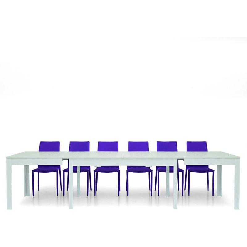 Tavolo allungabile bianco 160×90cm -332×90 cm - FASHION COMMERCE