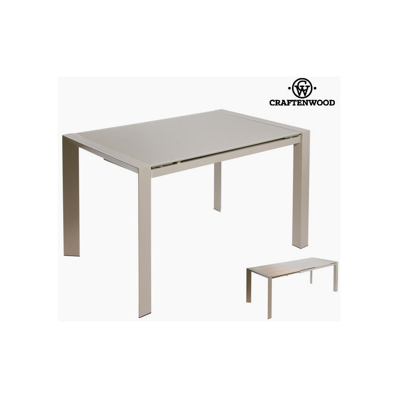 Tavolo Allungabile Grigio.Tavolo Allungabile Grigio By Craftenwood