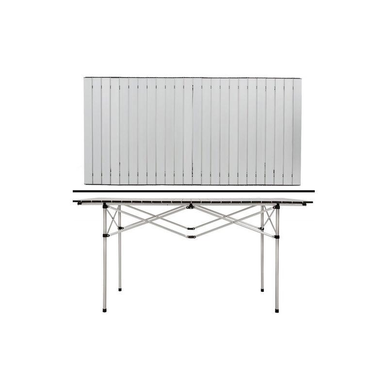 Tavolo Arrotolabile Da Campeggio.Tavolo Arrotolabile In Alluminio 70 X 140 X 70 Picnic Campeggio