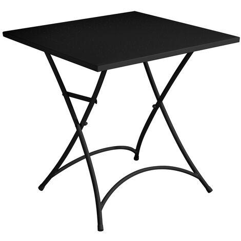 Tavolo Giardino Metallo Pieghevole.Tavolo Bar E Giardino In Ferro Pieghevole