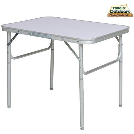 Tavolo Pieghevole Pic Nic.Tavolo Campeggio Picnic Alluminio 75x55x60 Pieghevole Valigetta