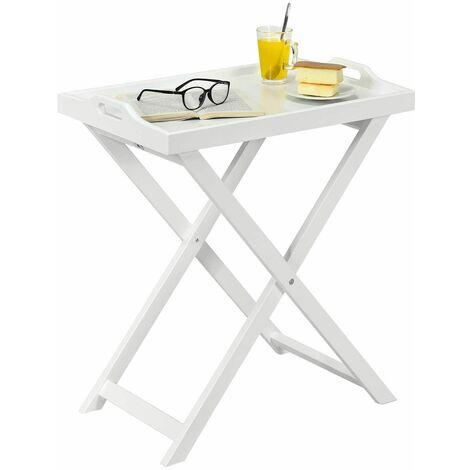 Tavolino Con Vassoio Asportabile.Tavolo Con Vassoio Removibile E Gambe Pieghevoli Tavolo Da