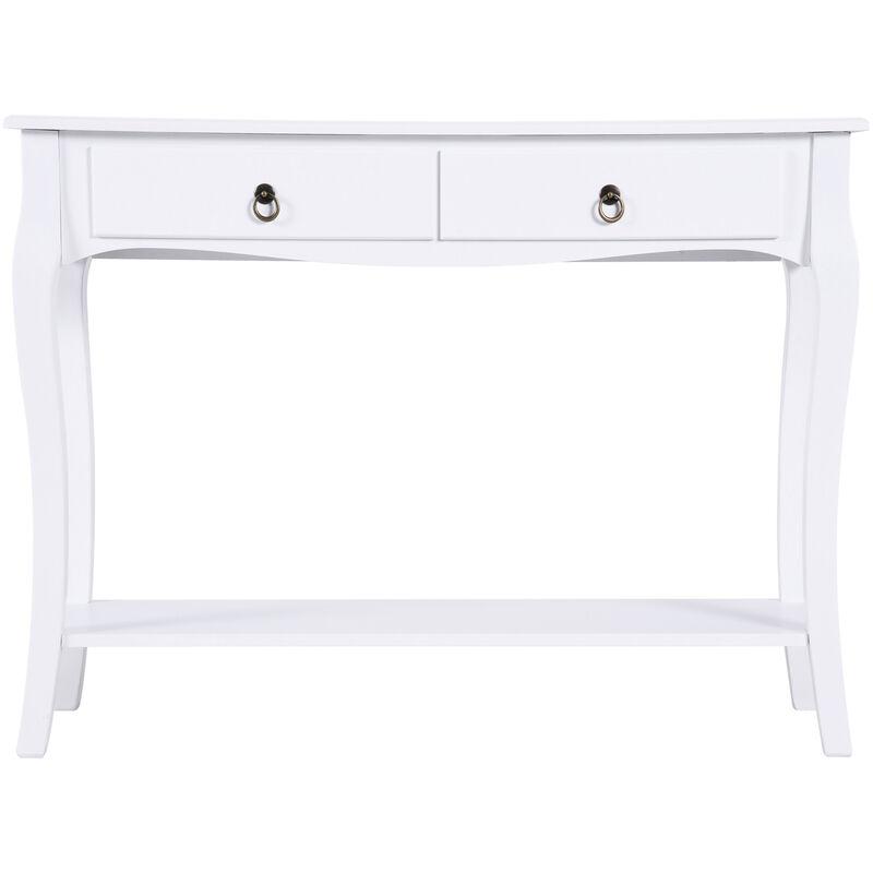 Tavoli Consolle Per Ingresso.Tavolo Consolle Per Ingresso Bianco 100x33x76 Cm Benzoni