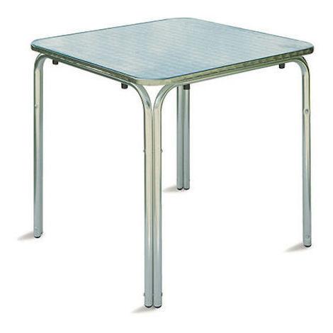 Tavoli Impilabili Per Esterno.Tavolo Da Esterno Giardino Bar Impilabili In Alluminio Contract